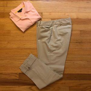 Brooks Brothers Natalie Fit Cotton Pants.